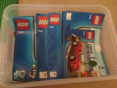 40+ Awesome Lego Storage Ideas | The Organised Housewife
