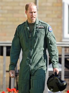 Prince William, Duke of Cambridge (Honorary Air Commandant of Royal Air Force Coningsby) prepares to take off in a Chipmunk aircraft during a visit to RAF Coningsby to observe the 100th Anniversary Parade of 29 (Reserve) Squadron on September 22, 2015 in Coningsby, England.