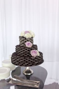 Oreo Wedding Cake | photography by http://www.andimans.com/
