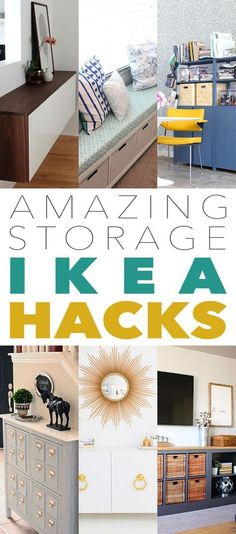 Amazing Storage IKEA Hacks