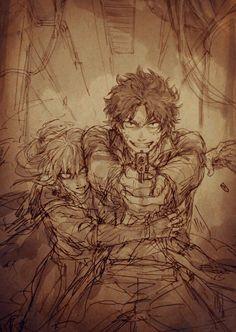 sakamoto tatsuma, mutsu Cool Drawings, Drawing Sketches, Sakamoto Tatsuma, Anime Love Couple, Anime Ships, Akira, Anime Art, Fan Art, Manga