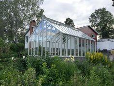 Växthus 15 kvm, Sweden greenhouse