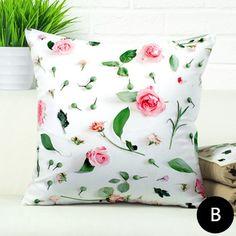 3D rose flower throw pillows for living room love sofa cushions