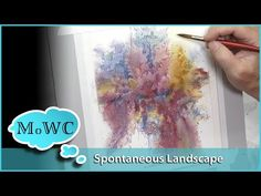 Watercolor Pencil Line Over Wash. Fun, Stylized, Spontaneous! - YouTube Watercolor Pencils Techniques, Watercolor Pencil Art, Watercolor Art Landscape, Watercolor Video, Watercolour Tutorials, Watercolor Cards, Abstract Watercolor, Watercolor Flowers, Watercolor Paintings
