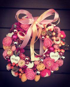 Candy spring door decoration