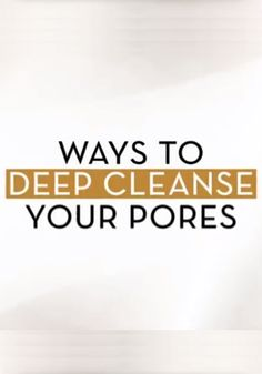 Beauty expert Tai Beauchamp talks about ways to deep cleanse your pores - just in time for summer!
