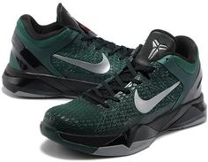 http://www.asneakers4u.com Nike Zoom Kobe 7 Elite Shoes Dark Green/Black1