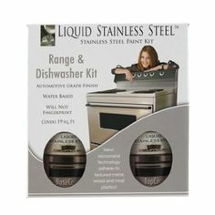 Liquid Stainless Steel Stove & Dishwasher Kit