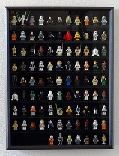 LEGO Minifigure display by Toki - Who needs painted art when you could do awesome things like this on your wall??