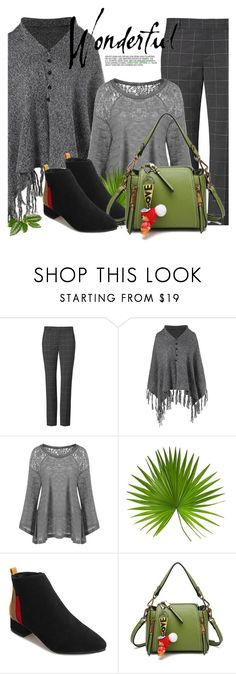"""""""Plus Size  Long Sleeve Sweater"""" by selmir ❤ liked on Polyvore"""