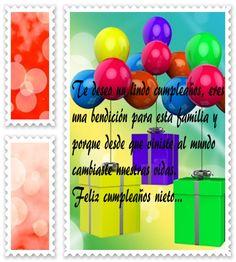 tiernos mensajes para tu nieto de feliz cumpleaños con imágenes gratis,frases…