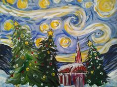 X Starry Night Christmas 3 HR