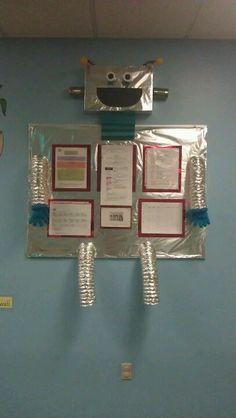 Cool robot bulletin board