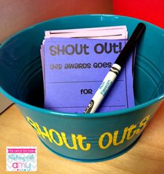 Helpful Harvest: Positive Reinforcement in the Classroom by The Primary Peach