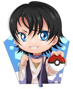 Armin (Amour sucré) likes Pokémon