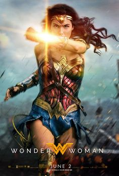 Poster de la película Wonder Woman Marvel Dc, Wonder Woman, Superhero