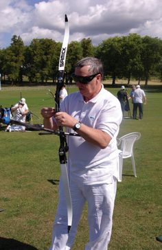 Blind Veteran, Peter Price, has discovered a talent for blind archery and has broken several records at both a club and national level! As an ex Service man with sight loss, Peter was able to sign up for the help of Blind Veterans UK and joined the Archery Club soon after becoming a beneficiary. #BlindVeteransUK #Archery Archery Club, Outdoor Activities, Blind, The Help, How To Become, Inspirational, Sign, Sports, Hs Sports