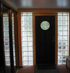 Glass Blocks Entry Way