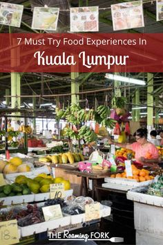 Kuala Lumpur, Malaysia is rich with food experiences, from street food, bustling markets, loca. Chinese Street Food, Thai Street Food, Singapore Malaysia, Malaysia Trip, Kuala Lumpur Travel, Malaysia Travel Guide, Working Holidays, Asian Market, Food Stall