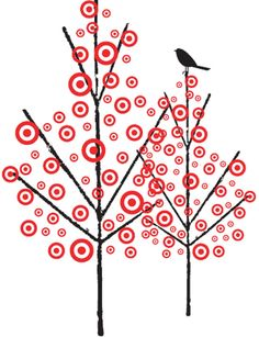 I even love the Target trees!