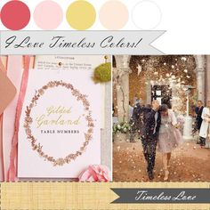The Perfect Palette: The Perfect Palette: {Color Your Wedding Beautiful}: Palettes I Love!