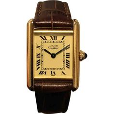 c6c3887ba20 Cartier Vintage Tank Must Gold Gold plated Watches Cartier Gold