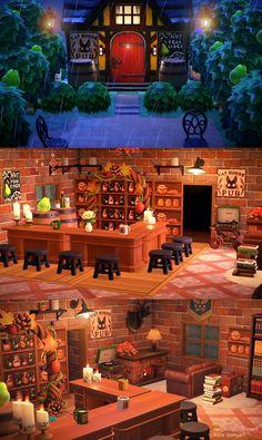 Animal Crossing Qr, Animal Crossing Wild World, Nightcore Anime, Ac New Leaf, Motifs Animal, Rainy Night, Animal Games, Island Design, Logo Inspiration