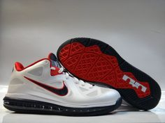 watch 64785 a068c Hot Deal Nike Lebron 9 Low Silver Blue Pink