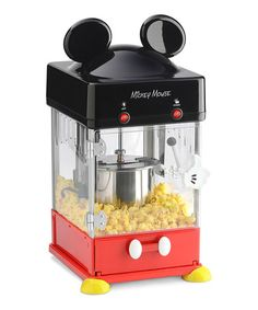 Look what I found on #zulily! Mickey Mouse Kettle Popcorn Popper Set #zulilyfinds