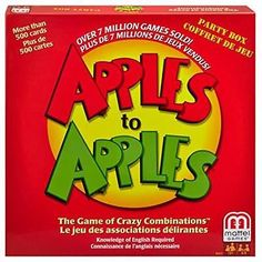 Apples to #apples #party box toy game kids play gift christmas board #traditional,  View more on the LINK: 	http://www.zeppy.io/product/gb/2/252343457701/