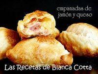 Blanca Cotta en nuestra cocina: empanadas de jamón y queso