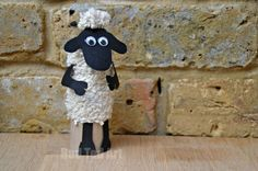 If you love TP Roll Crafts for Kids, you may ADORE this TP Roll Shaun the Sheep - but it also makes for a great sheep craft for kids at Easter!