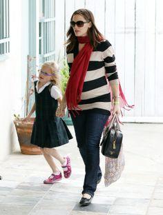 Jennifer Garner in Seraphine maternity jeans http://www.fertilemind.com.au/category-maternity-jeans-143.aspx