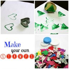 Make Your Own Stamps! - Inner Child Learning