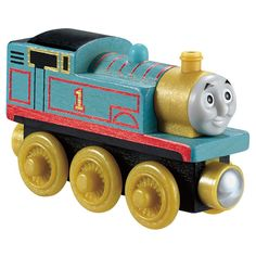 Fisher-Price Thomas and Friends Wooden Railway Thomas Engine Gift Pack