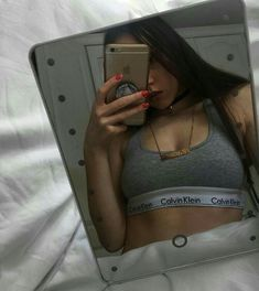 Mirror mirror, what do you see? Ft Tumblr, Tumblr Girls, Girl Photo Poses, Girl Poses, Cute Couple Pictures, Girl Pictures, Couple Goals Cuddling, Swag Girl Style, Cotton Bralette