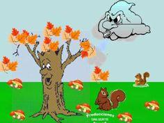 cancion las hojas del árbol se iban cayendo