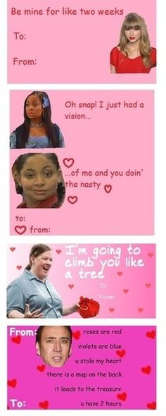 nicki minaj valentine's day cards tumblr