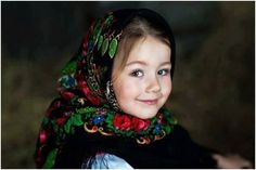 Ukrainian girl from Bukovyna (from Iryna) <> (children of the world, childhood) Precious Children, Beautiful Children, Art Children, Beautiful Eyes, Beautiful People, Cute Kids, Cute Babies, Foto Baby, Child Face