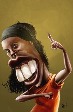 Caricaturas Soccer Player by Rafael Fernandes, via Behance Cartoon Faces, Funny Faces, Cartoon Art, Funny Caricatures, Celebrity Caricatures, Pictures To Draw, Funny Pictures, Love Smiley, Comic Face