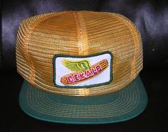 7494dde6c5b Vintage NEW Dekalb Seed Corn Advertising Hat Farmer Trucker Mesh Snap Back  Cap