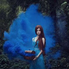 Magical Photos Of Women With Animals From Fairy Tales - Enchanted, Fantasy, Photography, Portraits, Women Smoke Bomb Photography, Fantasy Photography, Conceptual Photography, Photography Women, Creative Photography, Fine Art Photography, Amazing Photography, Portrait Photography, Fairy Tale Photography