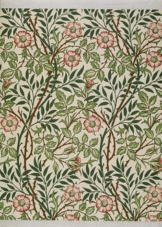 Sweet Briar wallpaper (V & A)