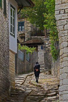 Dilofo village in central Zagori ~ Epirus