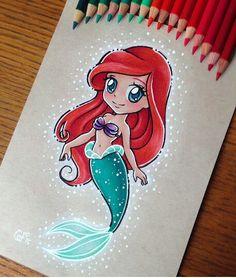 Cute chibi Ariel