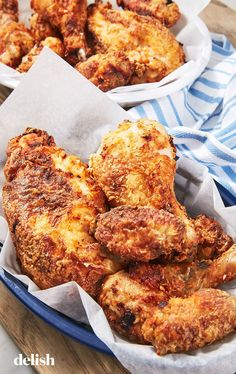 Imagine the best fried chicken you've ever had. Now imagine if it wasn't even fried. Not with this easy air-fryer fried chicken recipe! The air fryer works some kind of magic on the … Air Fryer Fried Chicken, Fried Chicken Recipes, Chicken Recepies, Roasted Chicken, Chicken Salad, Cooking Recipes, Healthy Recipes, Healthy Meals, Eating Healthy