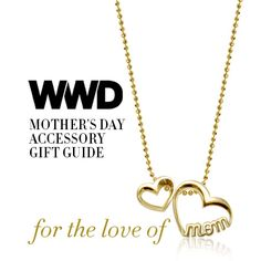 Thanks #WWD for featuring our #LittleWords Mom Hearts in your #mothersday gift guide!  #alexwoo