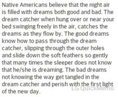 Story behind Dream Catchers!
