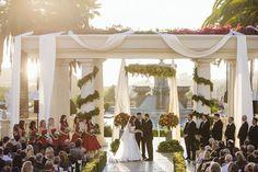 Royal Garden Wedding at St. Regis Resort, Monarch Beach by OCLA Events.