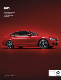 BMW 3 Series full page press advertising 2015 Bmw 3 Series, New Bmw 3 Series, Advertising Photography, Car Photography, Best Cars For Teens, Old Vintage Cars, Disney Cars Birthday, Car Volkswagen, Car Illustration